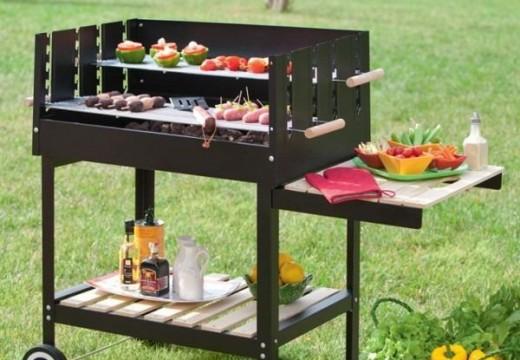 Barbecue en pierre / Barbecue à charbon
