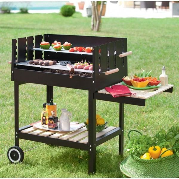 barbecue en pierre barbecue charbon barbecue partybarbecue party. Black Bedroom Furniture Sets. Home Design Ideas