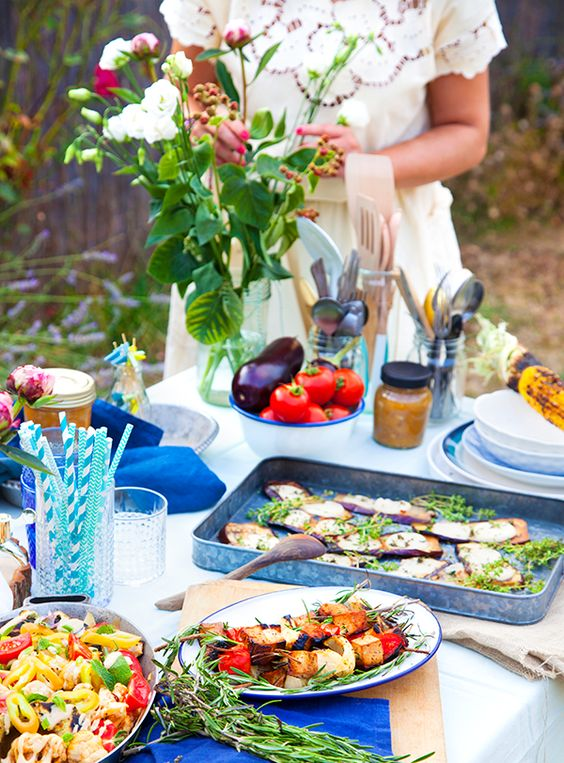 Organiser un barbecue pour un mariagebarbecue party - Idees pour barbecue party ...