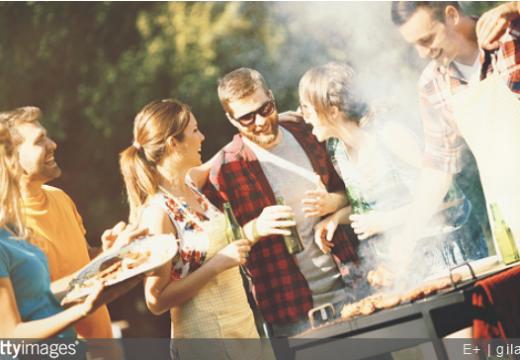 Un barbecue géant sur le thème champêtre pour fêter ses 30 ans !